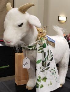 goat stuffed toy